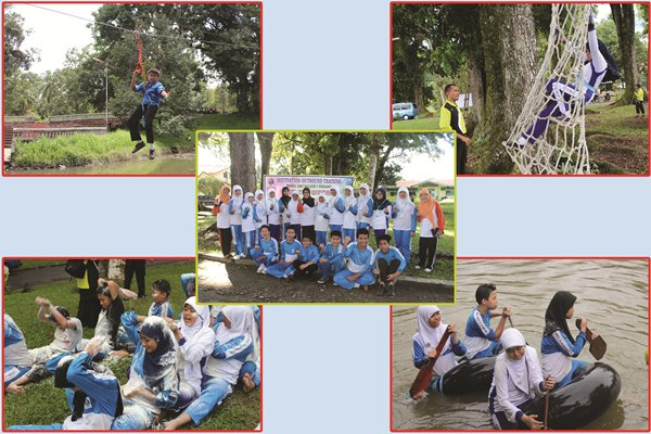 SMP N 1 Padang Motivation Outbound Training